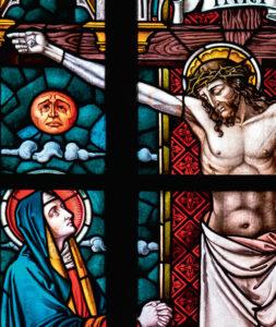 Vitrail Crucifixion